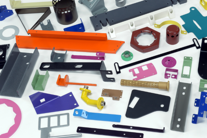 Powder Coating Components